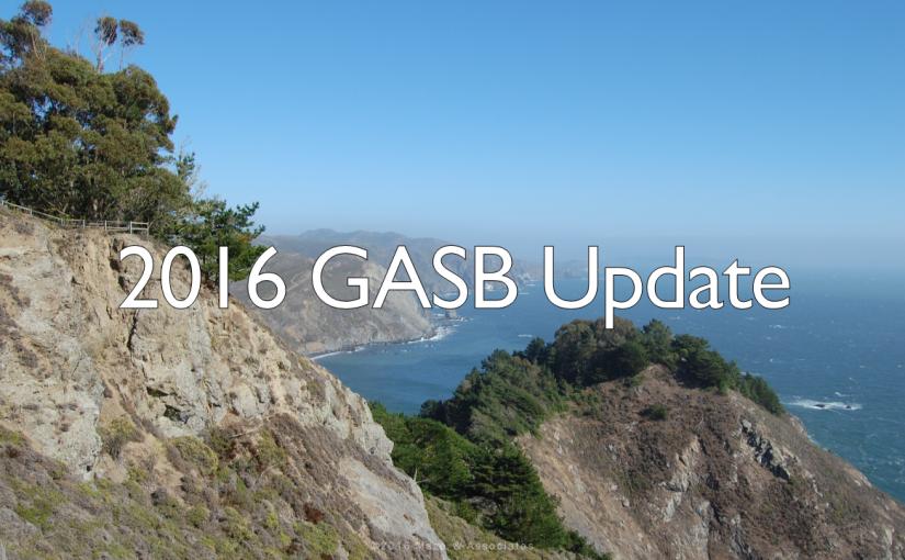Maze Live 2016 GASB Update